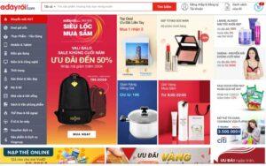 Website ban dien may