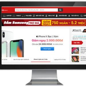 Website ban dien thoai