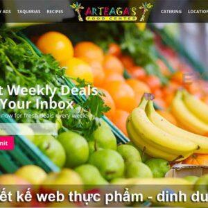 Website ban thuc pham