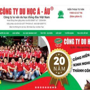 Website tu van du hoc